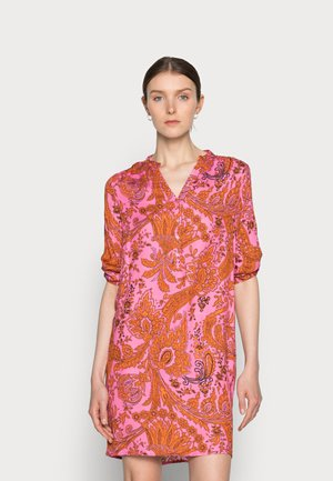 MIDI - Day dress - pink/orange