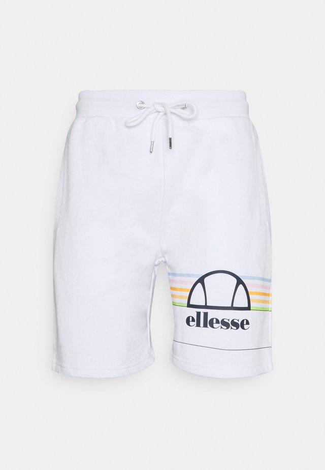 AIUTARMI - Shorts - white