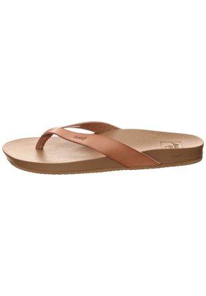 Pool shoes - brown