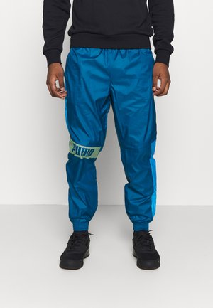 TRAIN PANT - Pantalon de survêtement - digi blue/energy blue/fizzy yellow