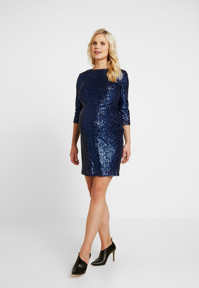 EXCLUSIVE PARIS DRESS - Cocktailjurk - navy