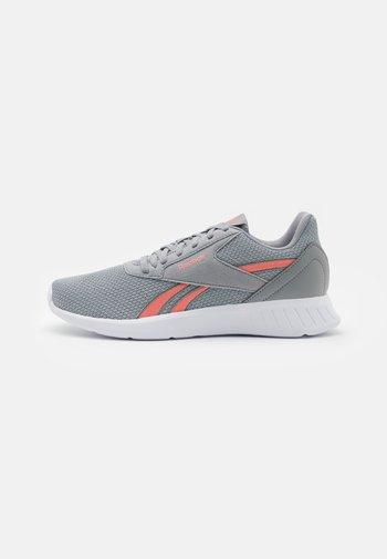 LITE 2.0 - Zapatillas de running neutras - grey/coral/white