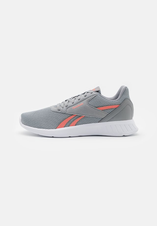 LITE 2.0 - Neutral running shoes - grey/coral/white
