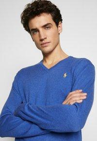 Polo Ralph Lauren - LONG SLEEVE - Strickpullover - blue - 3