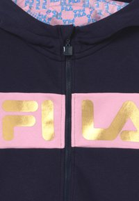 Fila - LUISA - veste en sweat zippée - black iris/lilac sachet - 3
