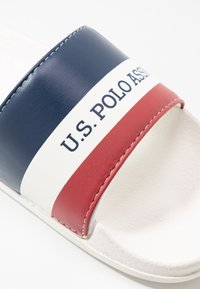 U.S. Polo Assn. - EMERALD  - Sandalias planas - white/dark blue - 2