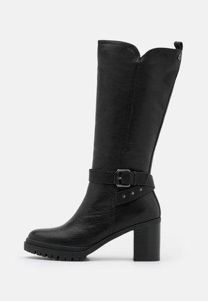 LADIES BOOTS - Platform-saappaat - black
