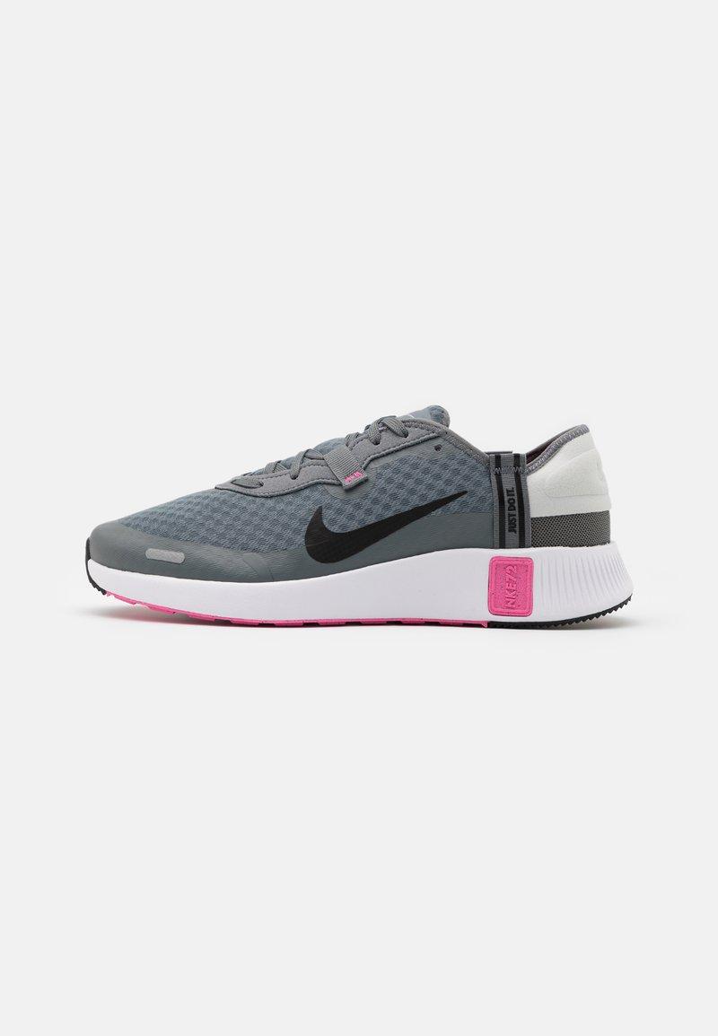Nike Sportswear - REPOSTO - Trainers - smoke grey/black/pink glow/photon dust/white