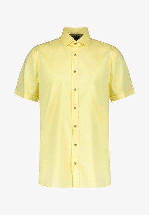 BODY FIT KURZARM - Shirt - gelb