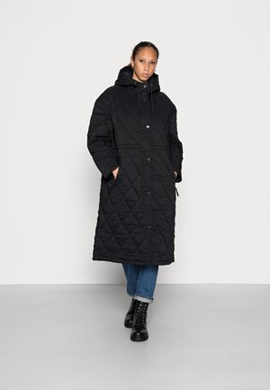 OVERSIZED QUILTED - Parka - black