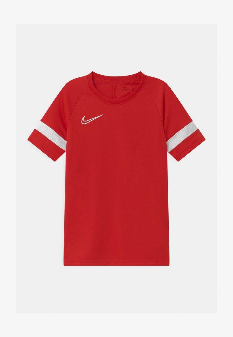 Nike Performance - ACADEMY UNISEX - Triko spotiskem - university red/white