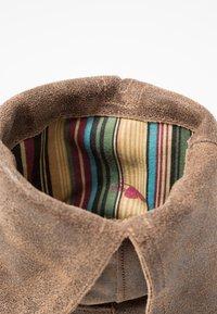 Felmini - GREDO - Cowboy/Biker boots - noumerat camel - 2