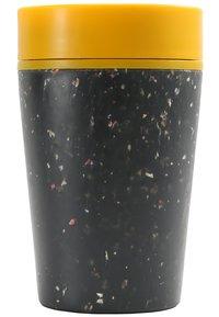 Circular&Co - KAFFEEBECHER TO GO MIT DECKEL - 227ml - Other accessories - schwarz / gelb - 1
