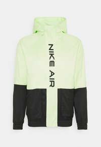 Nike Sportswear - AIR  - Waterproof jacket - black/light liquid lime - 0