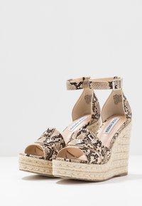 Steve Madden - SIVIAN - High heeled sandals - beige - 4