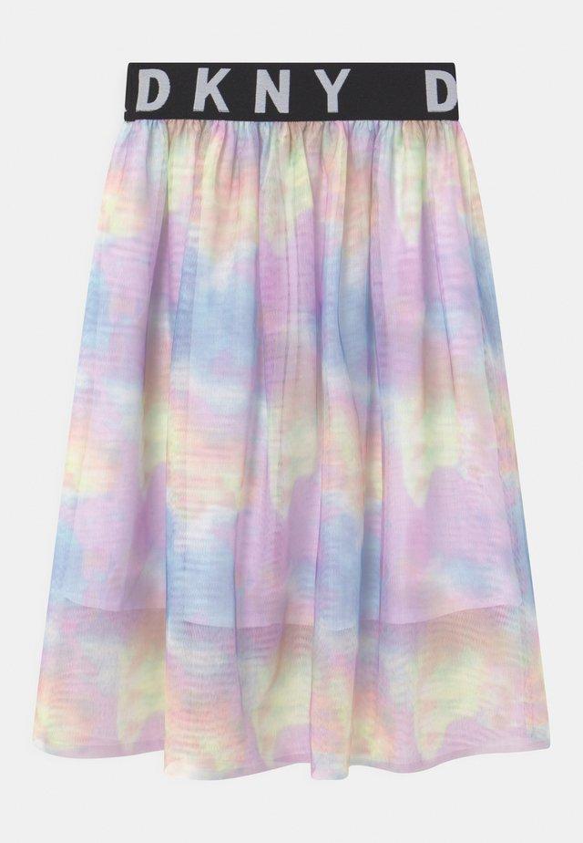 A-line skirt - multi coloured