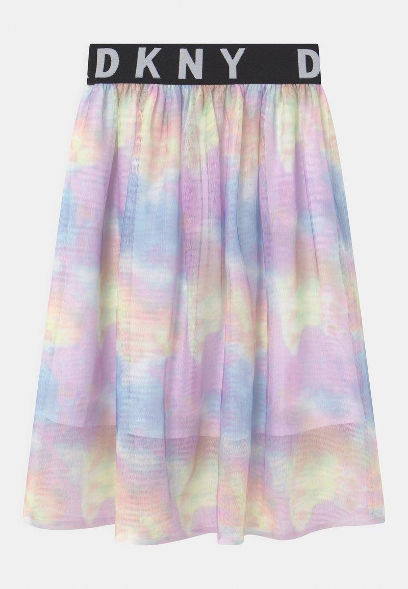 DKNY - A-line skirt - multi coloured