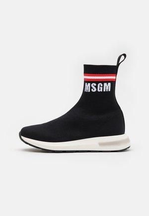 UNISEX - Sneakers hoog - black