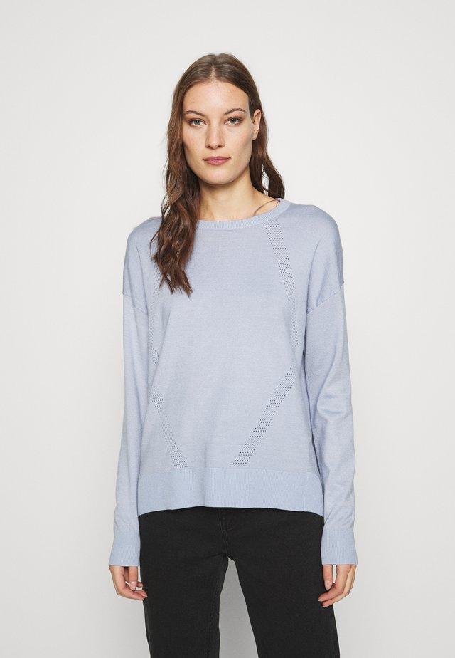 Sweter - zen blue