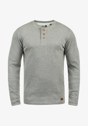 RUNDHALSSHIRT TOKATO - Long sleeved top - grey melange