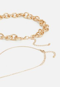 Pieces - PCDIANO COMBI NECKLACE 2 PACK - Necklace - gold-coloured