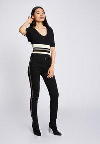Morgan - Slim fit jeans - black - 1