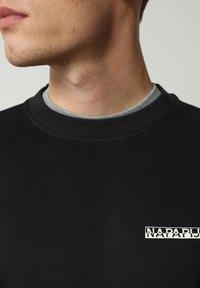 Napapijri - B-SURF CREW - Stickad tröja - black - 3