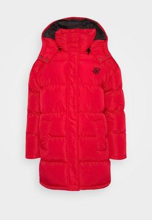 LONGLINE PADDED JACKET - Abrigo de invierno - red