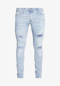 Jack & Jones - JJILIAM JJORIGINAL  - Jeans slim fit - blue denim - 4