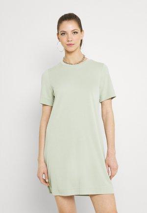 Žerzejové šaty - green dusty light