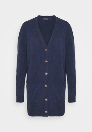 CARDIGAN LONG SLEEVE - Cardigan - boathouse navy heather