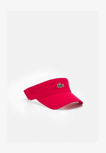 VISOR - Cap - ruby