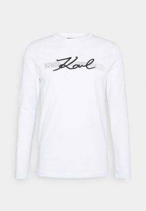 CREWNECK - Langarmshirt - white