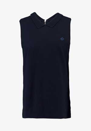SLEEVELESS ZIPPER - Top - blue night sky