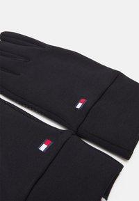 Tommy Hilfiger - WOMEN'S TOUCH GLOVES - Gloves - black - 2
