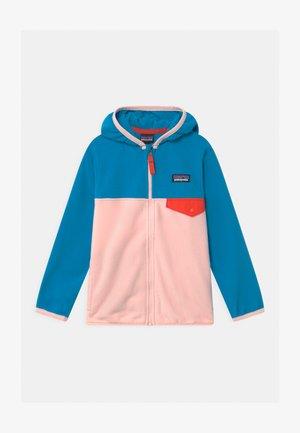 BABY MICRO SNAP UNISEX - Fleecová bunda - seafan pink