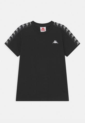 JANNO UNISEX - Print T-shirt - caviar