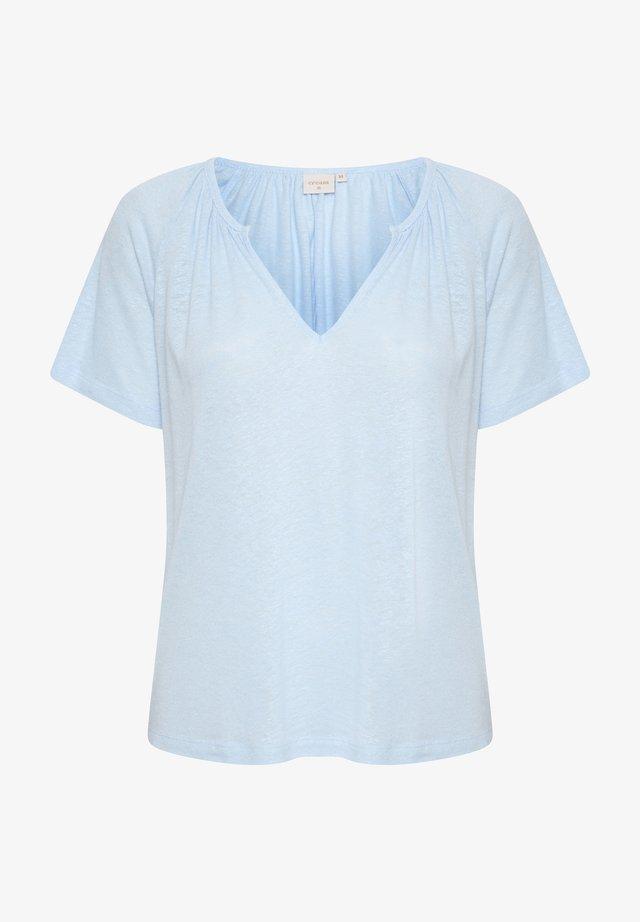 CRLUNA - T-shirt basique - cashmere blue