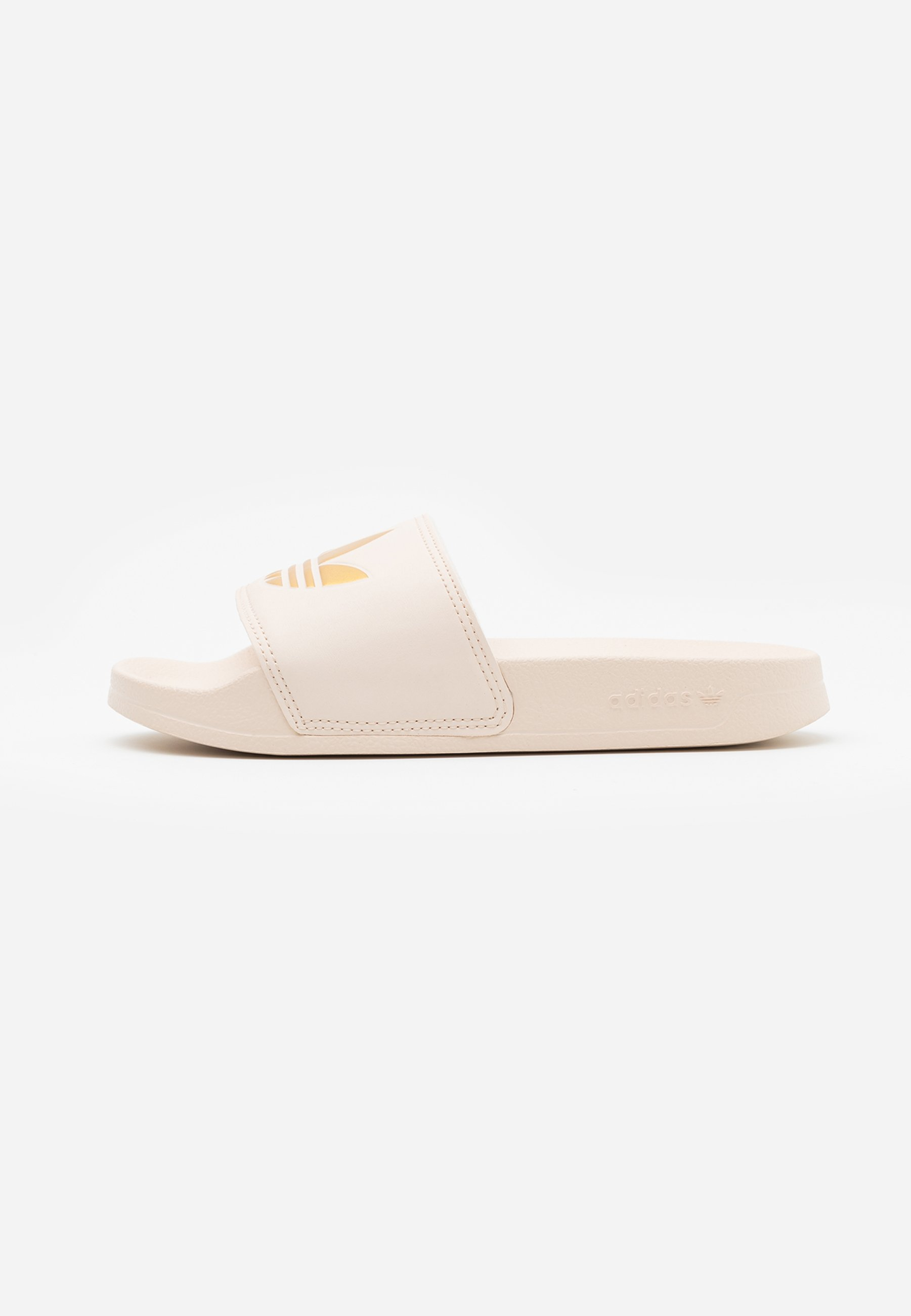 Adidas Originals Adilette Sports Inspired Slides - Klapki Linen/gold Metallic