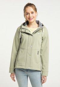 Schmuddelwedda - Soft shell jacket - pastelloliv - 0