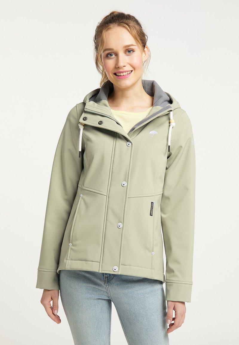 Schmuddelwedda - Soft shell jacket - pastelloliv