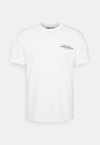 TROOPER TEE - Print T-shirt - white