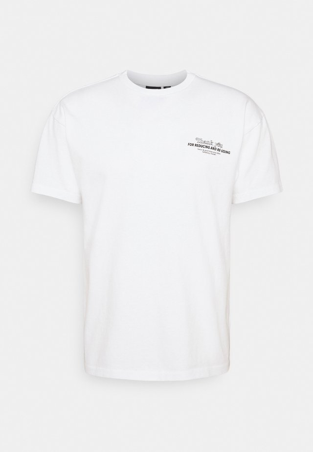 TROOPER TEE - T-shirt con stampa - white