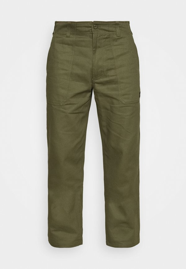Dickies FUNKLEY - Spodnie materiałowe - military green/oliwkowy Odzież Męska RDGX