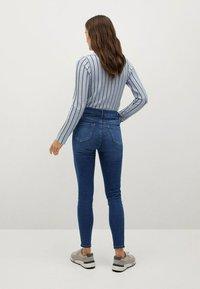 Mango - NOA - Jeans Skinny Fit - donkerblauw - 2