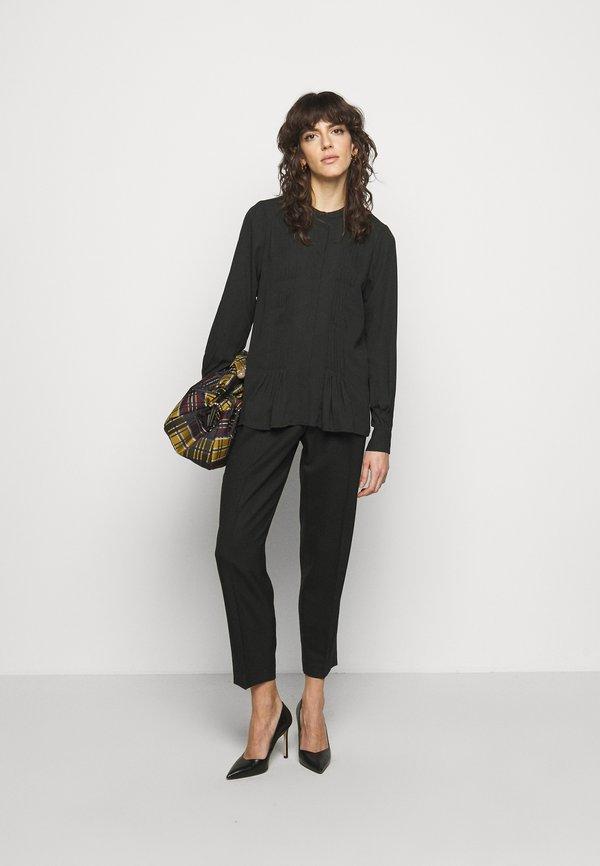 Bruuns Bazaar CAMILLA MAY - Bluzka - black/czarny YXPR