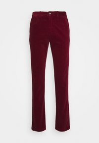 DENTON CORDUROY PANT - Tygbyxor - dark red