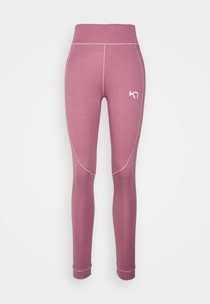RULLE HIGH WAIST PANT - Base layer - lilac