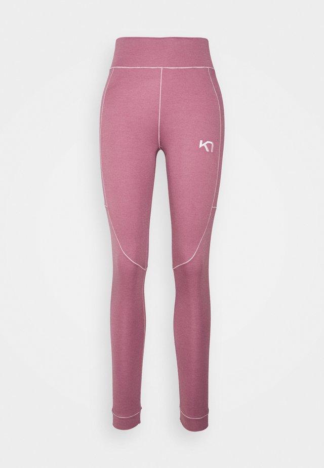RULLE HIGH WAIST PANT - Pitkät alushousut - lilac