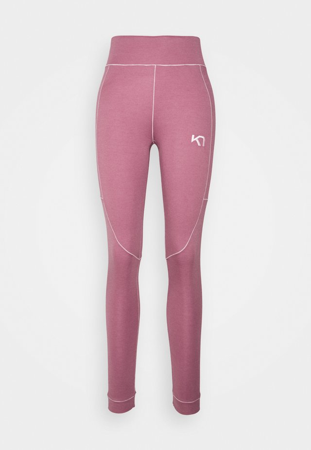 RULLE HIGH WAIST PANT - Onderbroek - lilac